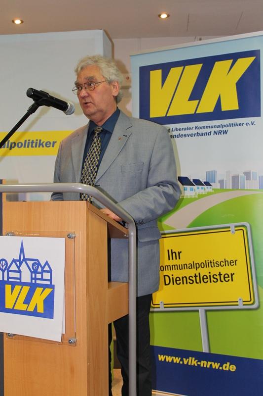 Kassenprüfer Dieter Schweppe