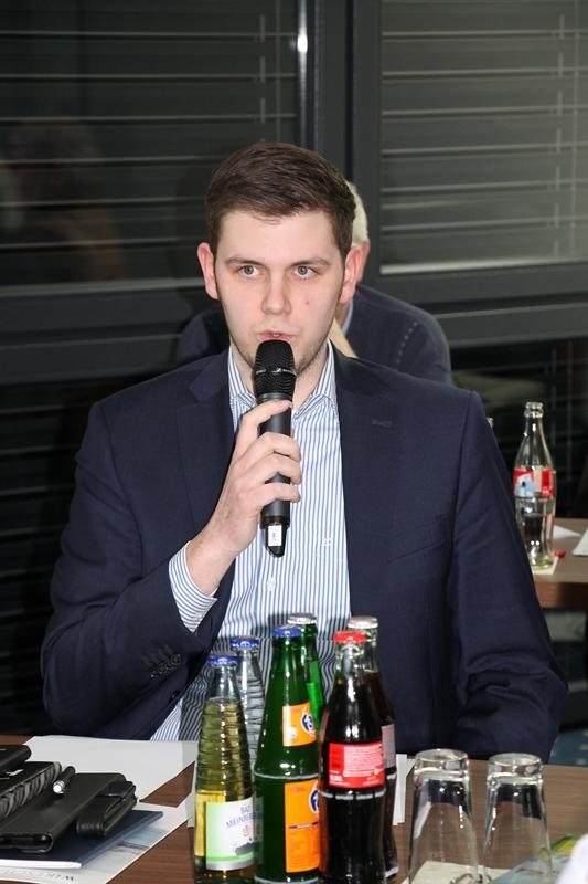 Patrick Büker, Fraktionsvorsitzender FDP Rheda-Wiedenbrück
