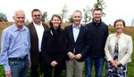 Der neue Vorstand der LWL-Fraktion (von links): Gerhard Stauff, Markus Schiek, Stephen Paul, Dr. Thomas Reinbold und Birgitt Vomhof.