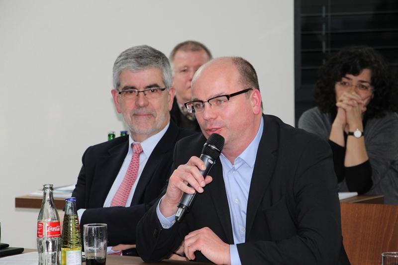 v.l.n.r. C. Thielmann, Hagen, A. Schmidt, Wuppertal