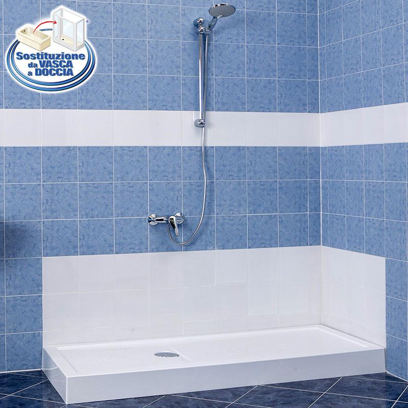 Da vasca a doccia in sole 6 ore e senza opere murarie - Da doccia a vasca da bagno ...