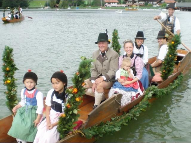 """Das """"Familien-Schiff"""" unserer Gensthalers"""