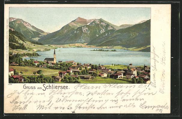Schliersee um 1890