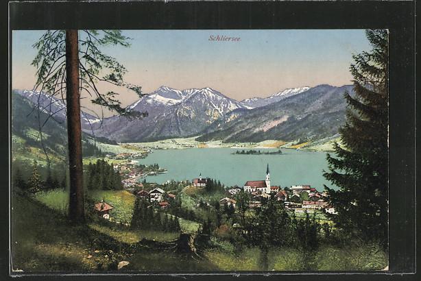 Panorama um 1900