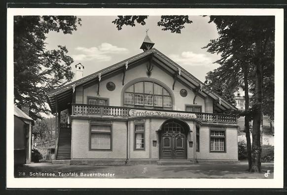 Bauerntheater um 1930 -