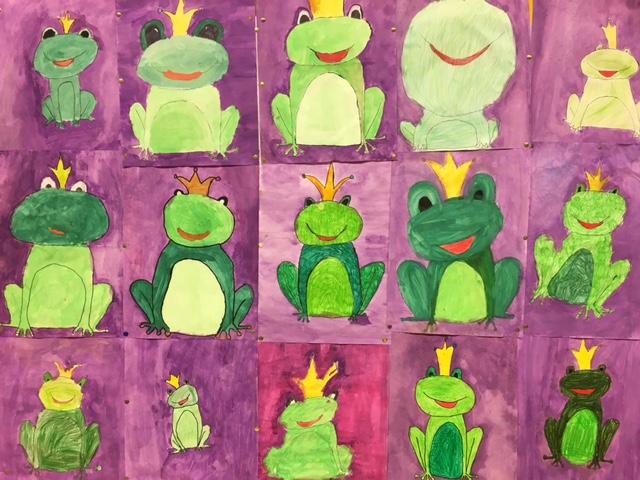 Froschprojekt der Klasse 3a