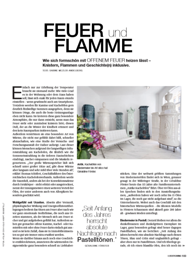 Luxury Living Magazin diePresse