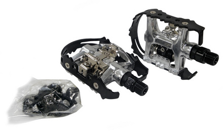 +++Pedal BENOTTO NWL-273L 9/16 Contacto SPD Alumunio Negro (2 Piezas) $530 MXN PEDBTT0915