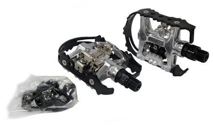 --Pedal BENOTTO NWL-273L 9/16 Contacto SPD Aluminio Negro (2 Piezas) $585 MXN PEDBTT0915