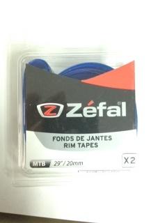 "**Corbata para Rin MTB 20mm  29"" Azul ZEFAL $112 MXN CORZEF0019"