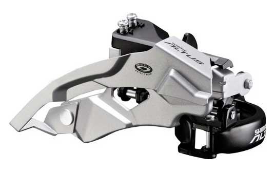 ++ Desviador delantero ALTUS FD-M370 TOP-DUAL PULL 34.9/28.6 44/48D 3X9 $350 MXN NP402091