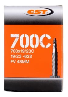 +++ Camara Tipo Tubular 700X35/43C V.F.48mm en Cajita CST $95 MXN CAMCHE0761