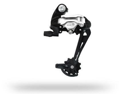 **Cambio MTB Trasero Mod.M97 9P Largo Aluminio sin Oreja en Cajita SUNRACE $679 MXN CMBSUN0011
