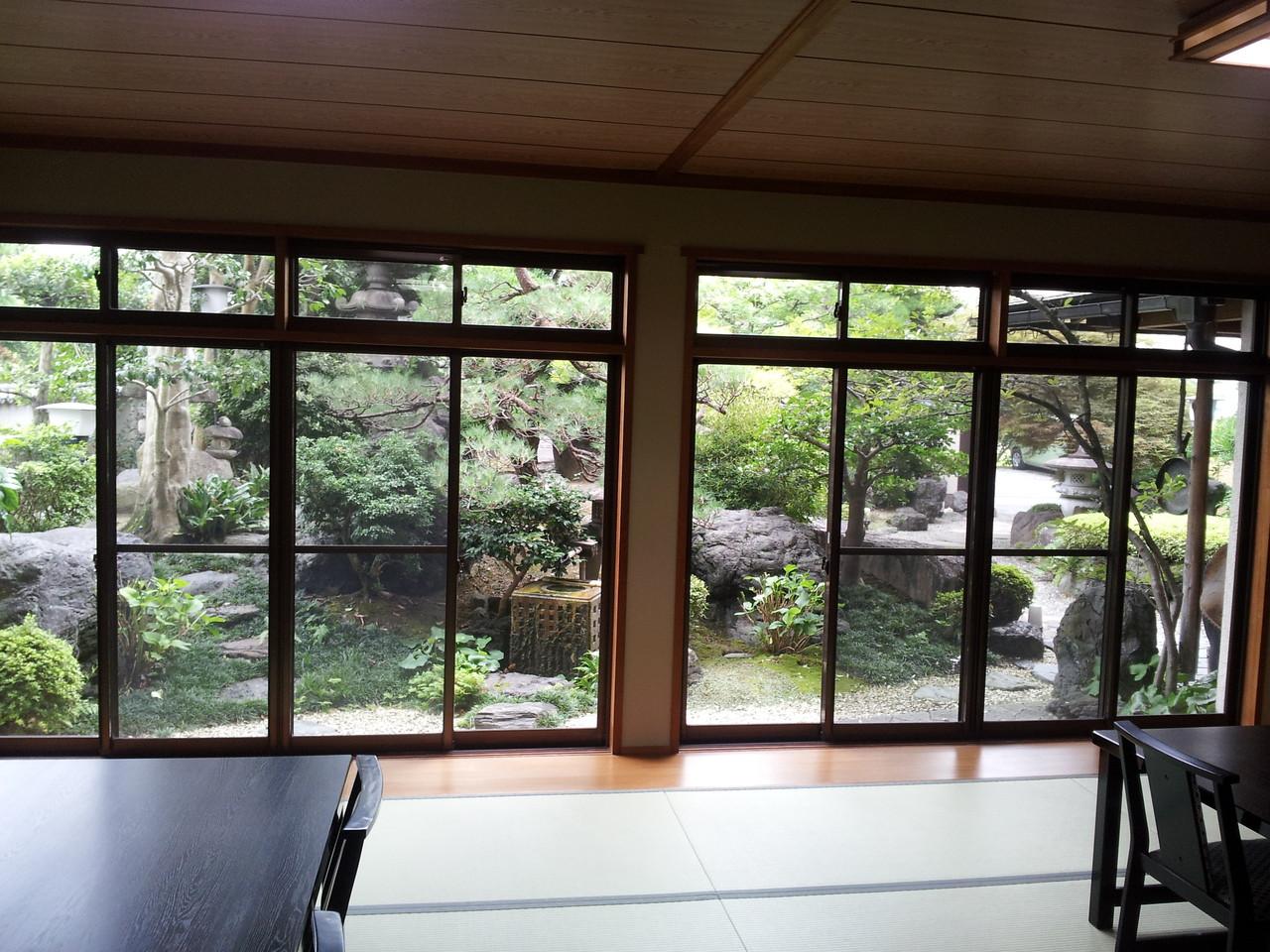 1階広間からの景色