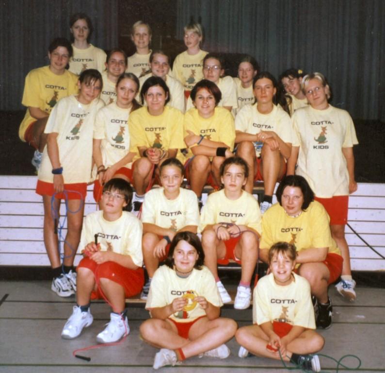2003 - Sächsische Schulsportgala in Brand-Erbisdorf