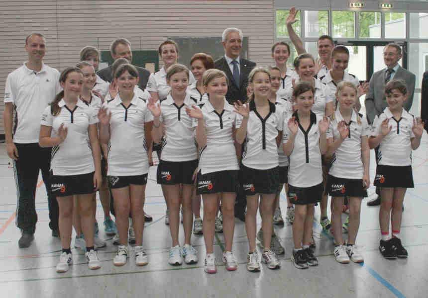 2012 - Ministerpräsident Tillich besucht BvC-Gymnasium