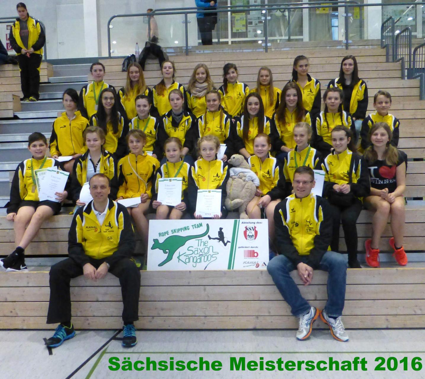2016 - Sachsenmeisterschaft in BED