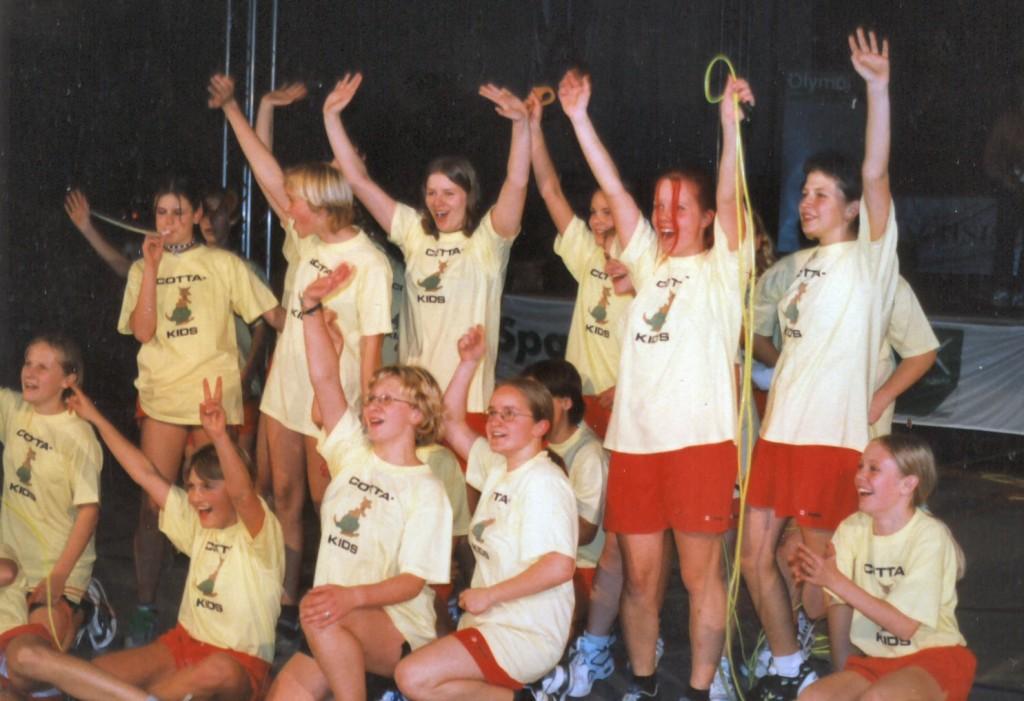 2001 - Sächsische Schulsportgala in Bautzen
