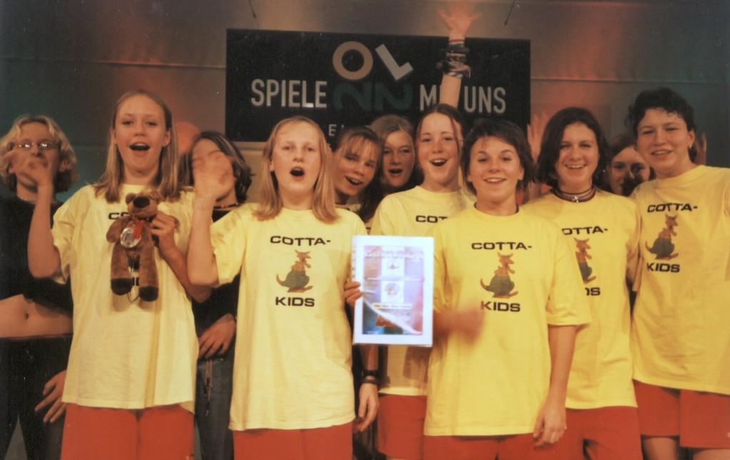 2002 - Sächsische Schulsportgala in Grimma