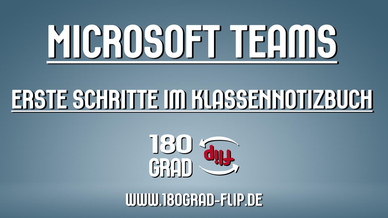 Microsoft Teams - Klassennotizbuch