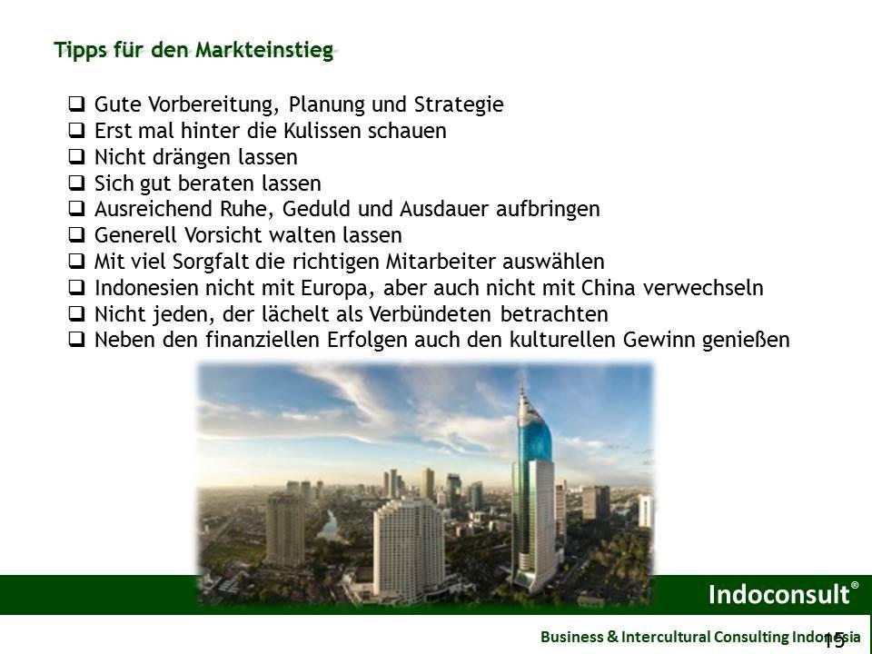 Tipps für den Markteintritt in Indonesien