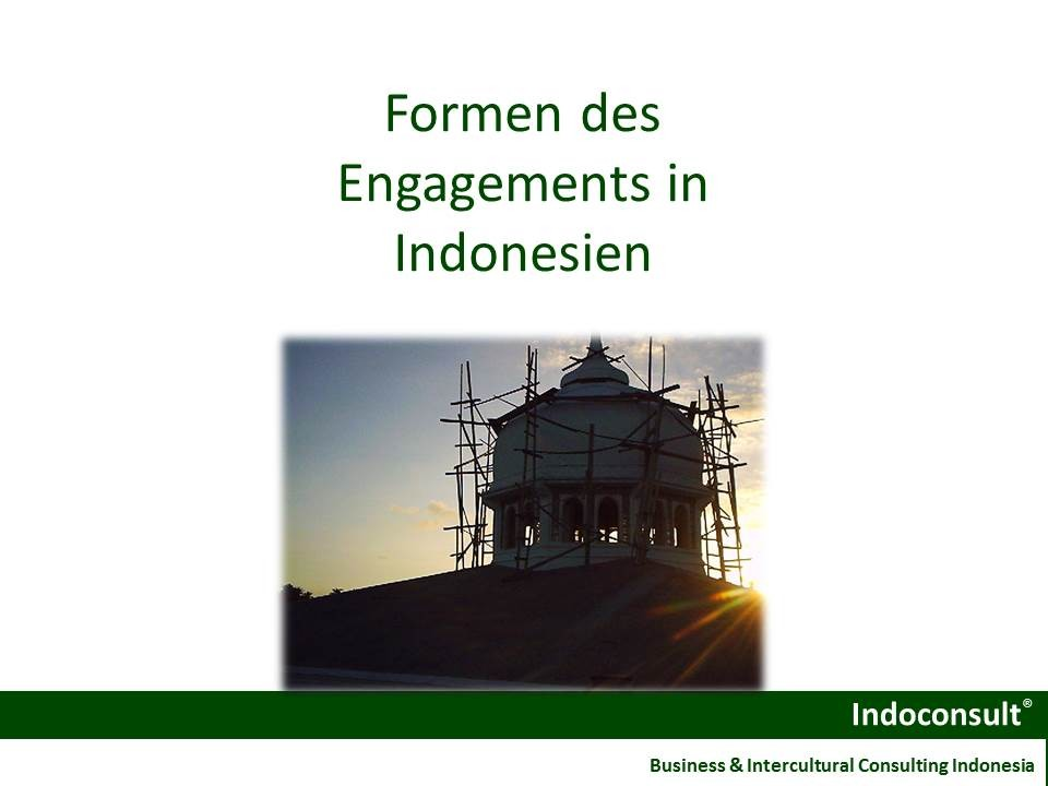 Engagement in Indonesien