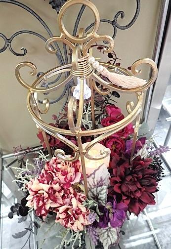 Wreath et  petit Trianon*Champagne