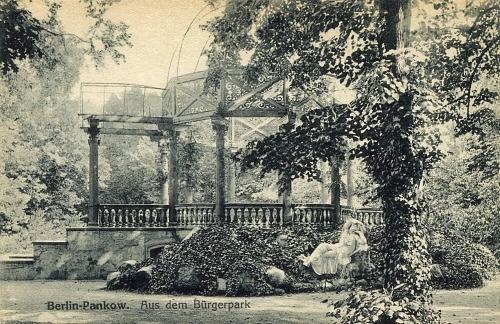 Bürgerpark Pankow - historische Aufnahme - https://www.buergerpark-pankow.de/index.html