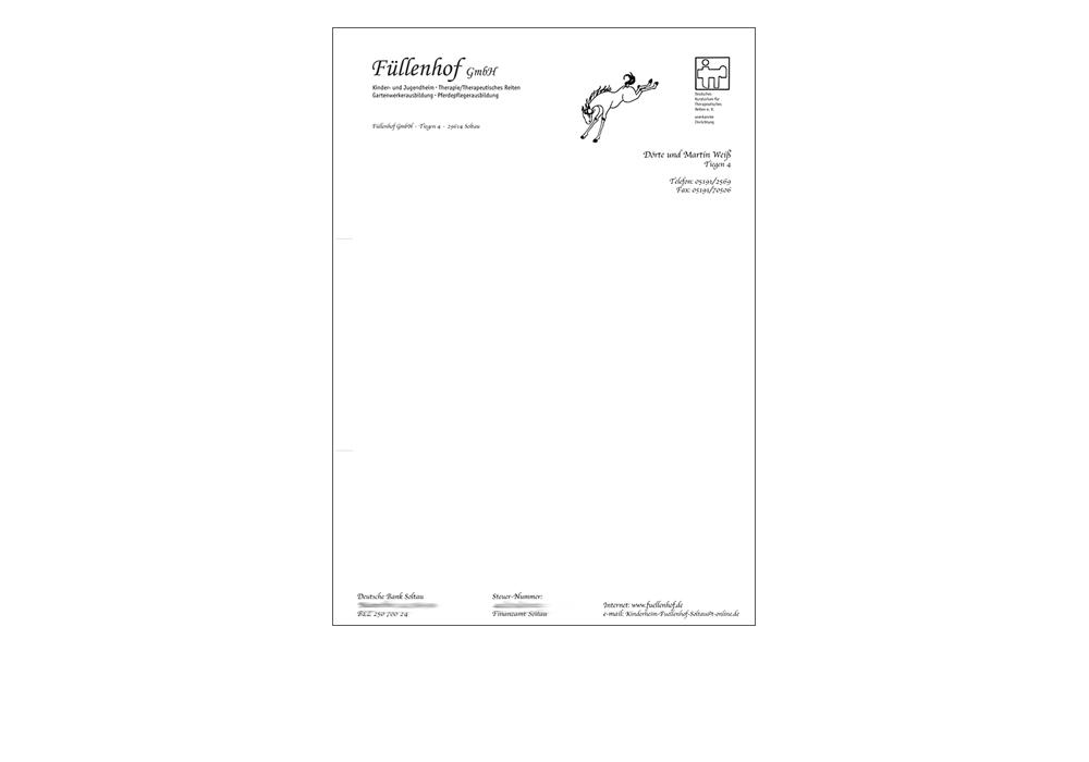 Briefbogen Füllenhof