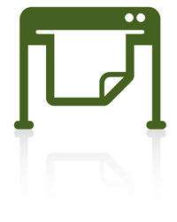 Symbol für  Werbetechnik - von Astrid Röben Printmedien in Neuenkirchen.