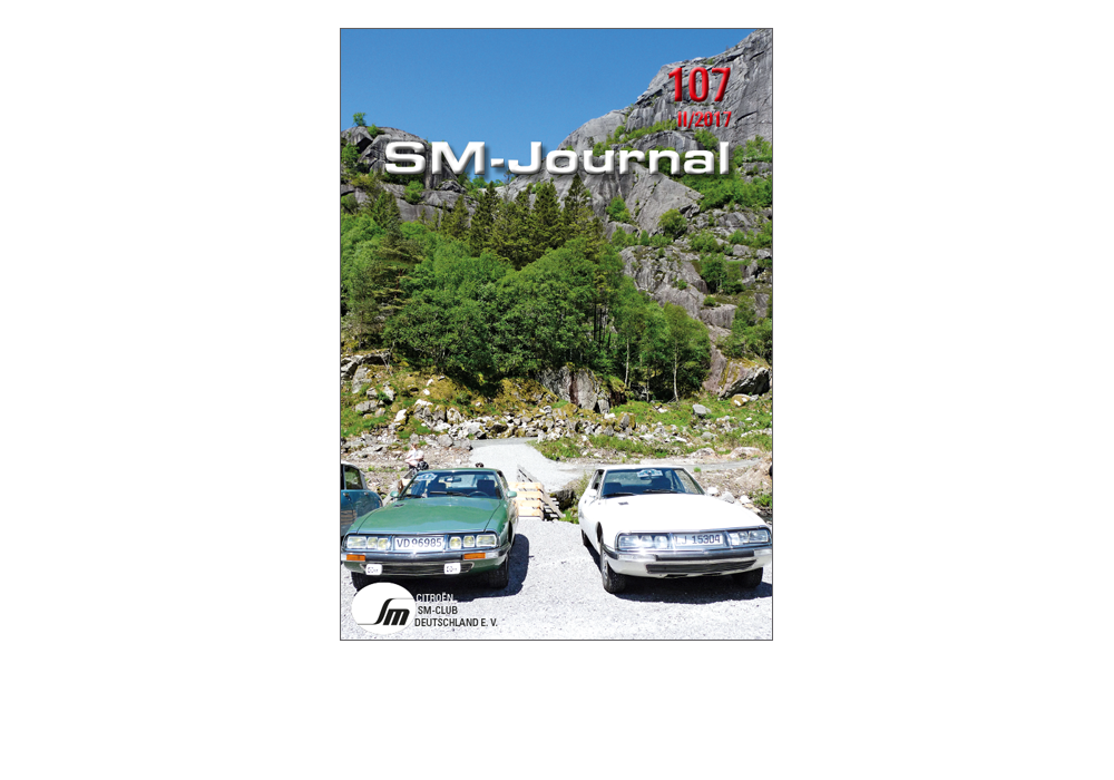 Journal des Citroen SM Clubs Deutschland