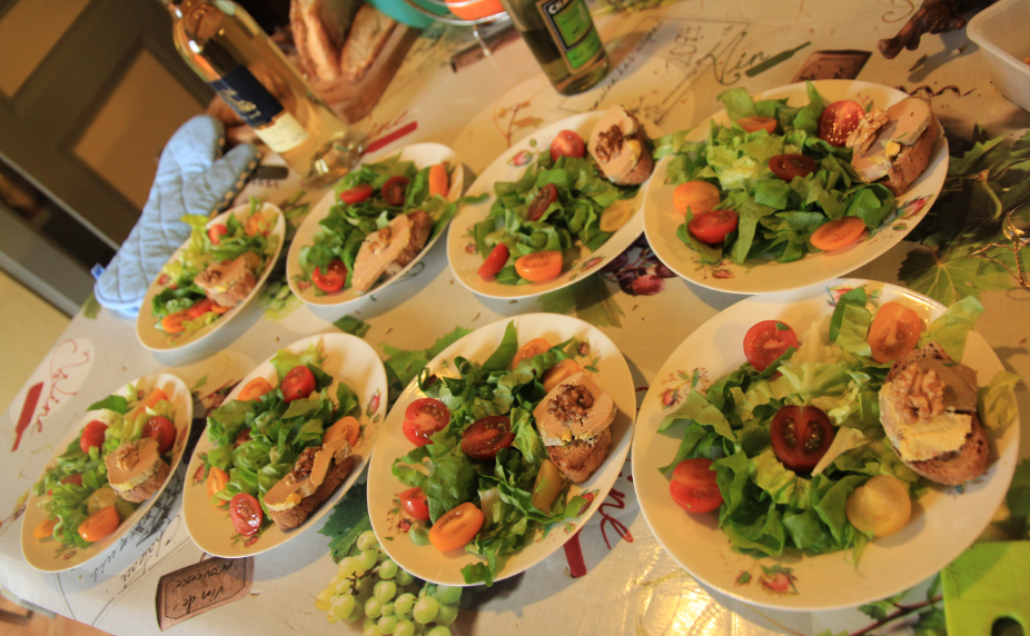 salade façon landaise