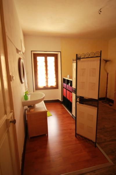 espace salle d'eau, accès