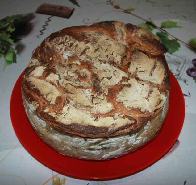 pain maison farine bio