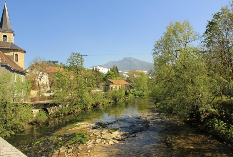 Le guiers vif côté Savoie