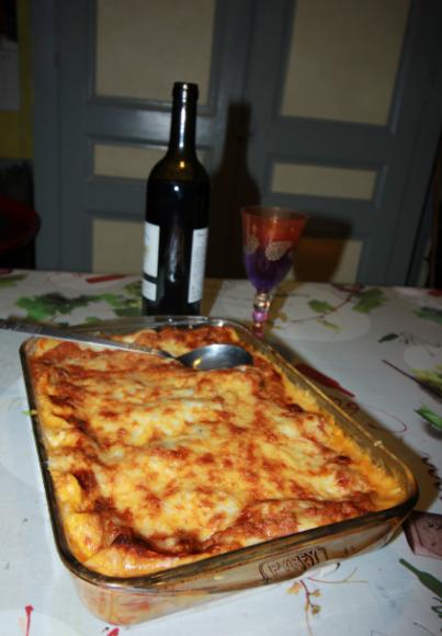 lasagnes maison (pâte fraîche)