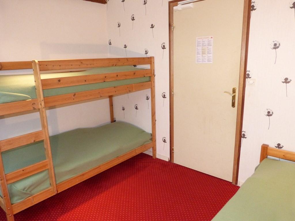 Chambre 4 : 3 lits