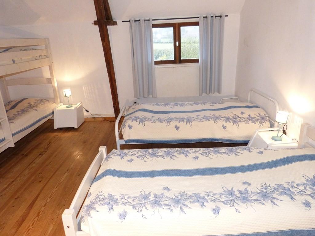 Chambre 1 : 6 lits