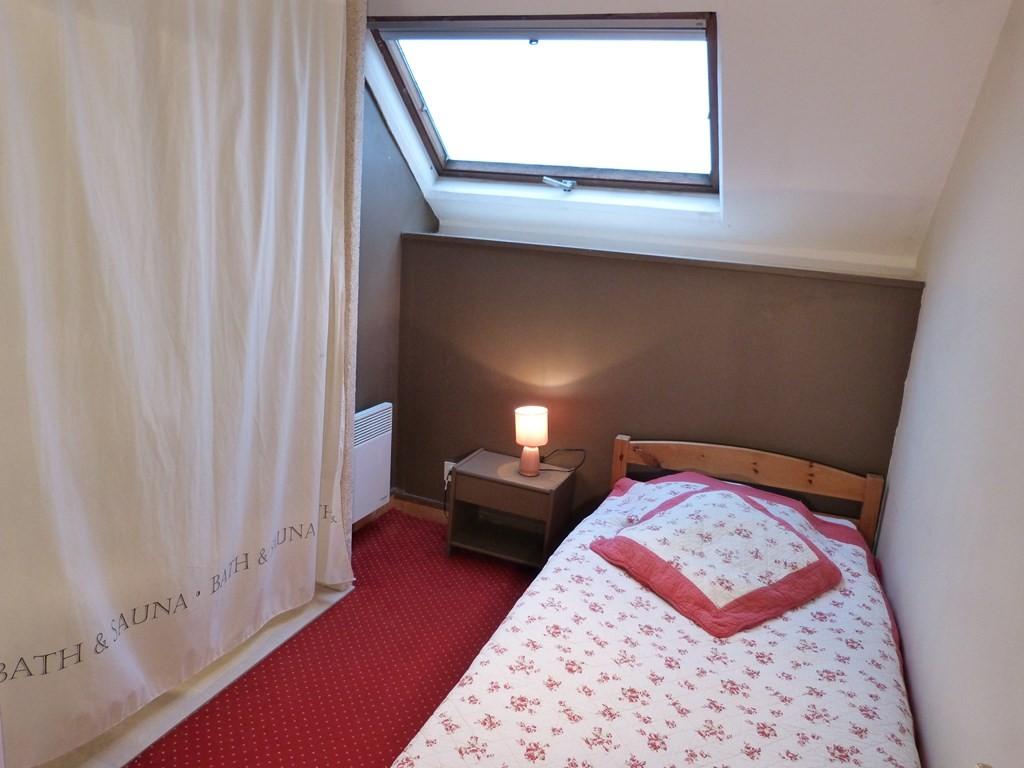 Chambre3 : 1 lit avec une salle d'eau