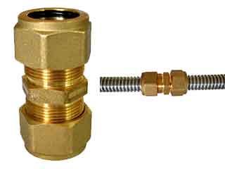 Wellschlauch Kupplung DN16