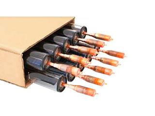 10 Heat pipe Röhren