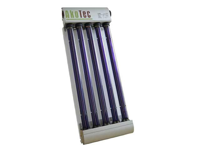 Heat pipe Musterkollektor