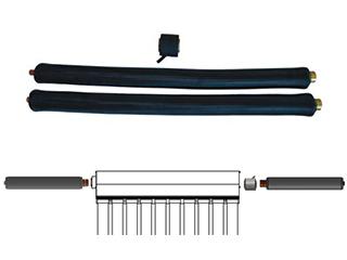 Wellschlauch Montageset mit Tauchhülse