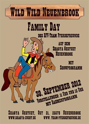 Family Day auf dem Shagya-Araber Gestüt