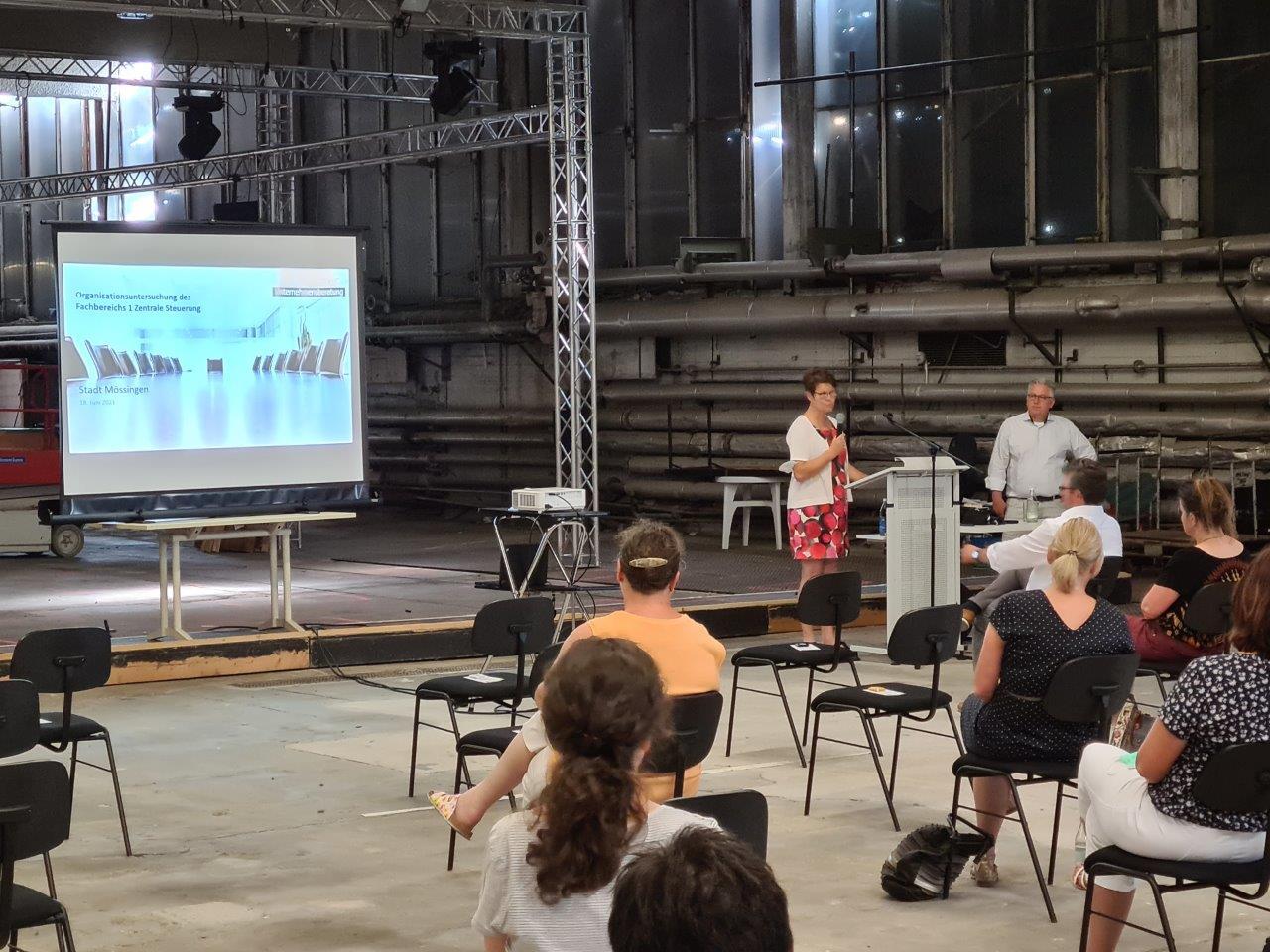 Organisationsuntersuchung des Fachbereichs 1 der Stadt Mössingen gestartet