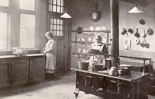 Ziekenhuizen - Oude foto keuken ...