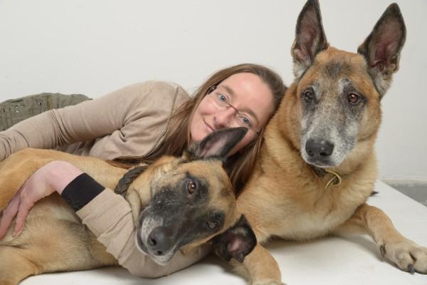 Susanne Schmitt, Buchautorin, Dozentin für Dorntherapie für Hunde