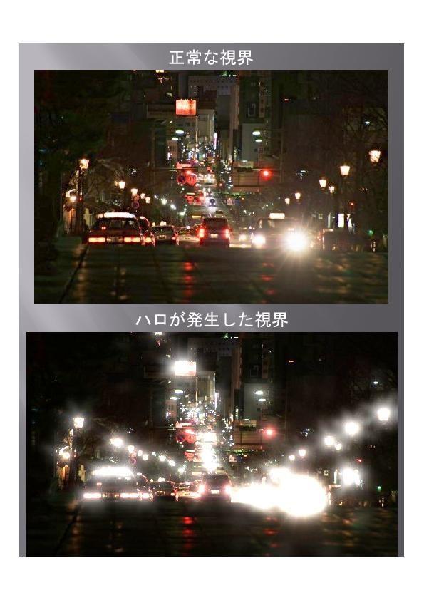 夜の運転が危険になるため、運転を自ら控える人もいます。