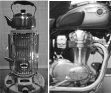 タンクはエンジンに温められ内部結露発生この状態が4輪にはありません
