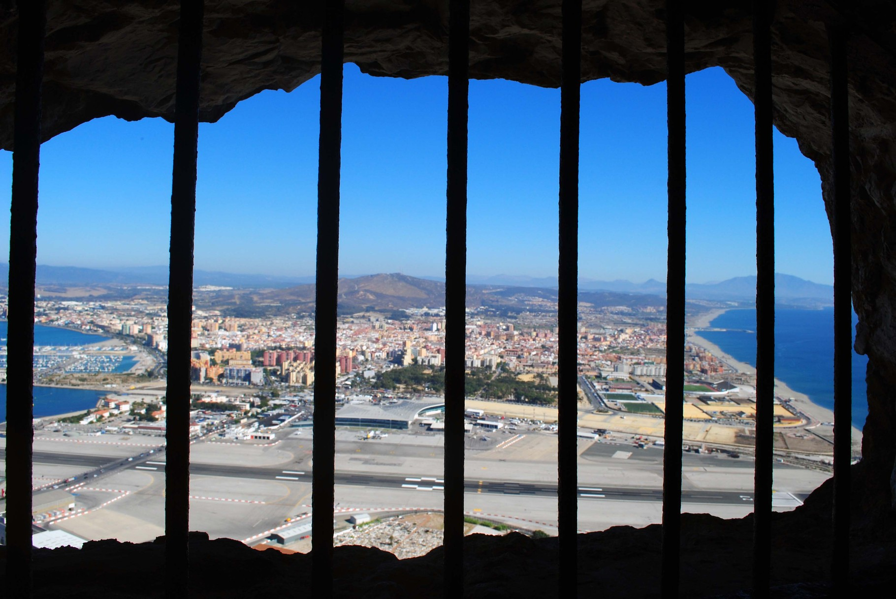 Inside the Rock of Gibraltar- September 2014